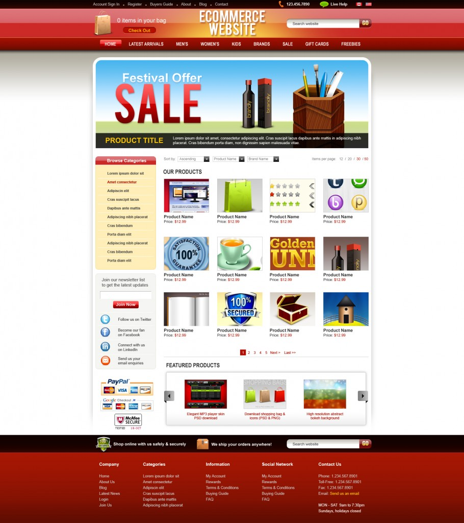 ecommerce-psdtemplate